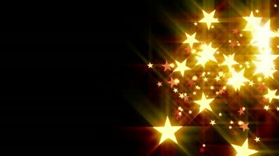 stock-footage-golden-stars-dark-background